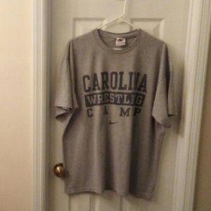 Nike Carolina Wrestling Camp TShirt Sz Large